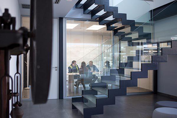 Interior oficina Neoflex